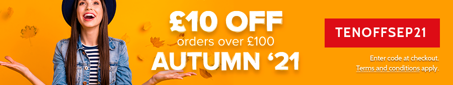 £10 OFF orders over £100